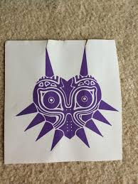6 Majora S Mask Decal On Storenvy