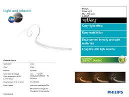 Đèn led dây 220V Philips 31086 - Đèn led dây cho người giàu