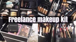 freelance makeup kit l must haves l