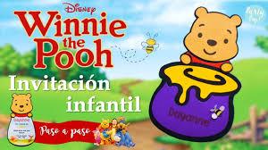 Winnie The Pooh Invitacion Para Fiesta Party Pop