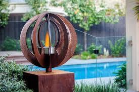 pool doubles as a rustic garden