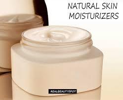 natural homemade skin moisturizers