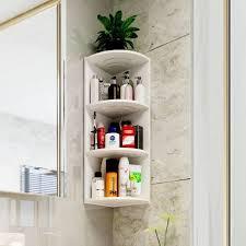 4 tier corner shelf bathroom rack