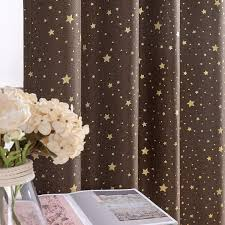 Blackout Curtains For Kids Bedroom On Flax Star Design Faux Linen Text Jinchan Curtains