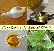 home remes for allergies
