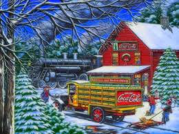 coca cola yule time delivery
