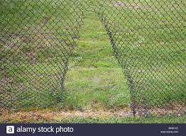 Broken Chain Link Fence High Resolution Stock Photography And Images Alamy