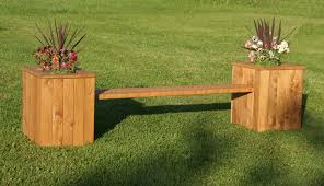 planter box bench plans easy diy