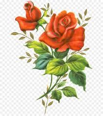 Bouquet Of Flowers Clipart Rose Cartoon Flower Transparent Clip Art
