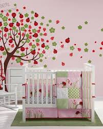 Ladybug Tree Wall Decal