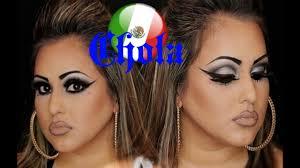 chola makeup tutorial plus hair by lala