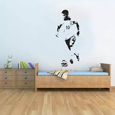Barcelona Neymar Handsome Wall Decal Kids Boys Room Playroom Football Player Stickers Art Interior Brazil Soccer Drop Diysyy420 Boys Room Wall Decalswall Decals Kids Aliexpress