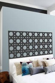 Cane Pattern Headboard Wall Decals Walltat