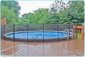 Aboveground Pool Deck Connected To House Using Removable Fencing Above Ground Pool Fence Above Ground Pool Decks Backyard Pool