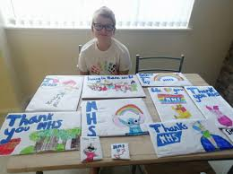 Schoolgirl artist raises money for NHS with series of drawings | Wigan Today