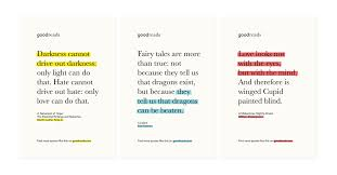 goodreads part i identity prototypr