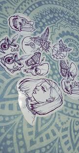 Gothic Vinyl Stickers Etsy