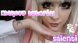 saientis updated makeup transformation