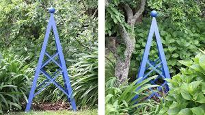 diy project garden obelisk stuff co nz
