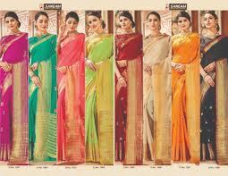 nityanx zoya by sangam silk sarees