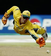 Gilly, Adam Gilchrist in action behind the stumps. Best Australian  wicketkeeper / batsman ever. And a gentleman too. | Cricket sport, Sports,  World cricket