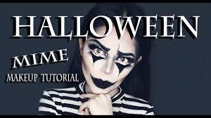 halloween mime makeup tutorial you