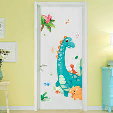 Cartoon Kinds Of Dinosaur Wall Stickers For Kids Room Removable Vinyl Wall Decals Children Room Nursery Animals Wall Poster Aliexpress