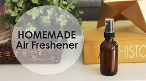 air freshener with essential oils