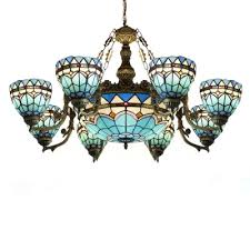 tiffany baroque style 37 w chandelier