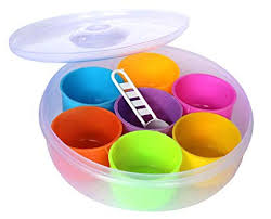 Buy Spice Box - 1200 ml Plastic Spice Container, Utility Box ...