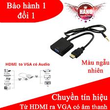 Cáp chuyển HDMI to VGA audio có âm thanh