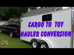 cargo to toy hauler cer conversion