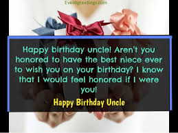 best happy birthday uncle wishes to show respect and love