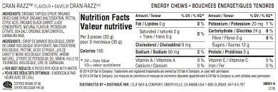clif bar shot bloks electrolyte chews