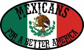 Trump Mexicans For A Better America Political Bumper Sticker Window Decal Ebay