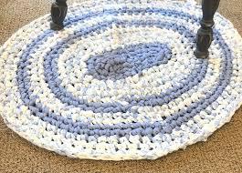 crochet oval rag rug cl part 2