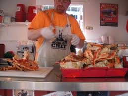 Alaskan King Crab legs from Tracy's ...