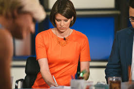 See how Kasie Hunt, political correspondent for MSNBC, packs and travels  for her months on the road following presidential cand… | Travel tips,  Travel, Mens tshirts