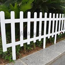 Wooden Picket Fence Garden Lawn Edging Yard Outdoor Tree Fencing Shopee Philippines