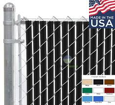 Fence Source Wave Slat 9 Colors Single Wall Bottom Locking Privacy Slat For 4 5 6 7 And 8 Chain Link Fence 6 Ft Black Amazon In Garden Outdoors
