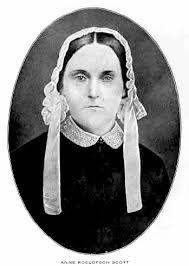 Feminist Voices & Visions: Anne Roelofson Scott (1811-1852)