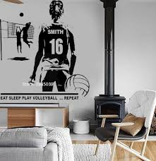 Top 9 Most Popular Volleyball Wall Decals Brands And Get Free Shipping A851