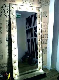 vanity mirror with light makeup lighted