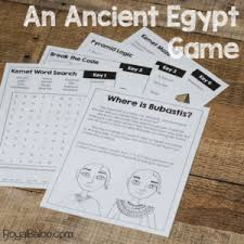 Ancient Egypt Escape Room Style Activity Royal Baloo