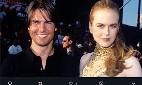 Tom Cruise esclude Nicole Kidman dal matrimonio del loro figlio ...