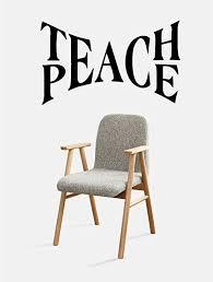 Amazon Com Ruki Teach Peace Wall Decal Vinyl Sticker Art Room Decor 23 X 14 Black Home Kitchen