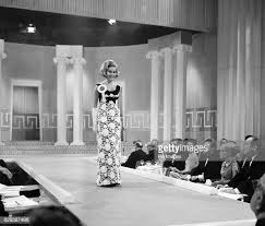 Carrol Adele Davis in her evening gown when she took part in the Miss...  News Photo - Getty Images