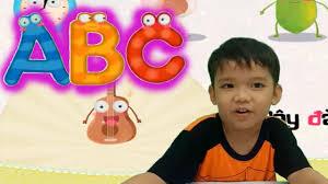 Cùng bé học chữ cái tiếng Việt với game ghép hình ABC video cho bé yêu -  YouTube