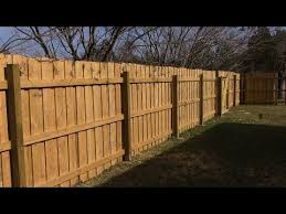 Building 70 Feet Of Wooden Fence Mm 93 Youtube