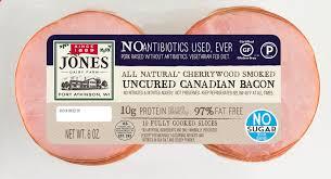antibiotic free no sugar canadian bacon